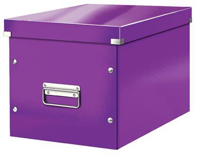 Obrázek Krabice Click & Store - L velká / purpurová