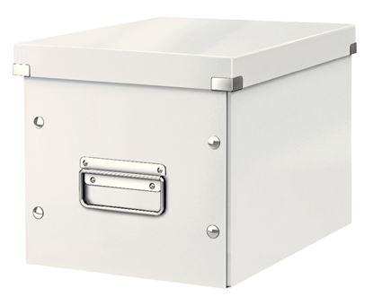 Obrázek Krabice Click & Store - M střední / bílá