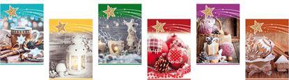 Obrázek Jmenovky na dárky - 50 x 70 mm / 6 ks, mix motivů