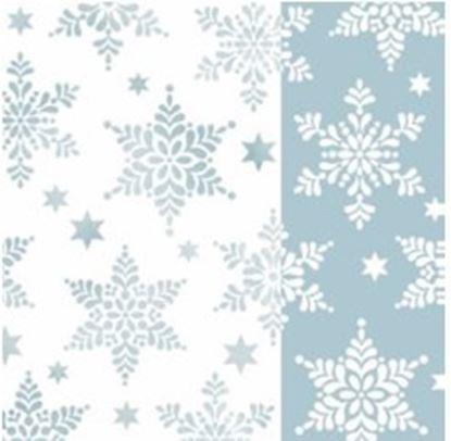 Obrázek Vánoční ubrousky - 33 x 33 cm / mix vánočních motivů