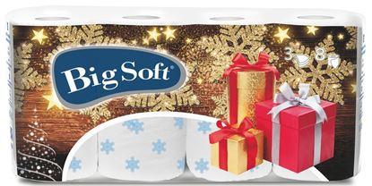 Obrázek Vánoční toaletní papír Big Soft - 8 rolí / Vánoce