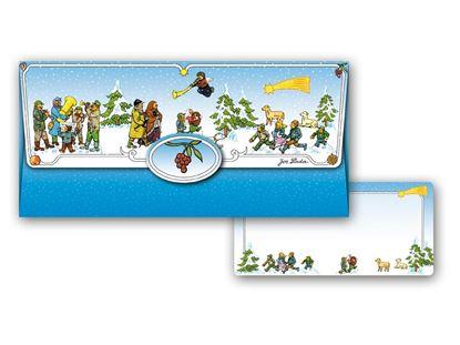 Obrázek Obálka na peníze vánoční Josef Lada - 180 x 85 mm