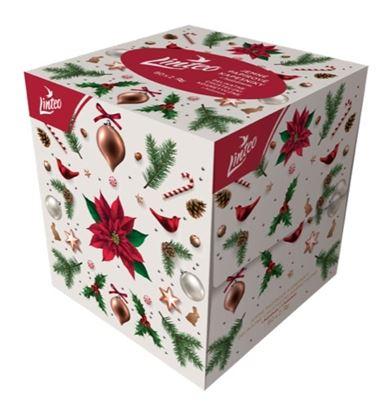 Obrázek Kosmetické vánoční kapesníčky Linteo - 2-vrstvé / 80 ks