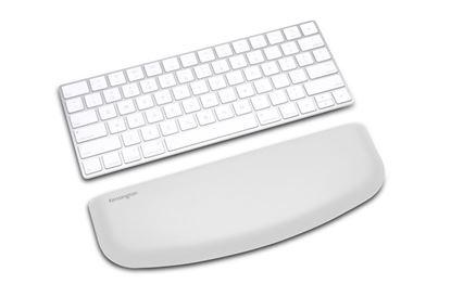 Obrázek Opěrka zápěstí pro slim, kompaktní klávesnice ErgoSoft™ / šedá