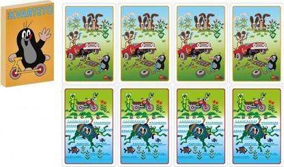 Obrázek Kvarteto karty Krtek 2