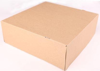 Obrázek Dortová krabice KRAFT - 22 x 22 x 10 cm