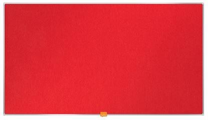 """Obrázek Nástěnka textilní Widescreen 40"""" / červená"""