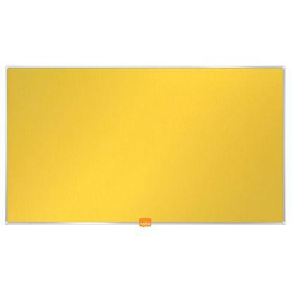 """Obrázek Nástěnka textilní Widescreen 32"""" / žlutá"""