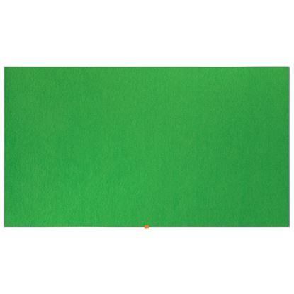 """Obrázek Nástěnka textilní Widescreen 85"""" / zelená"""