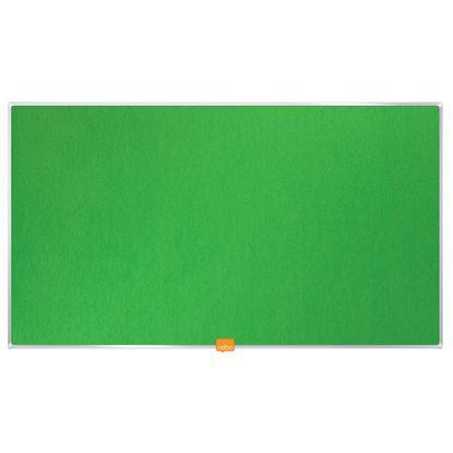 """Obrázek Nástěnka textilní Widescreen 32"""" / zelená"""