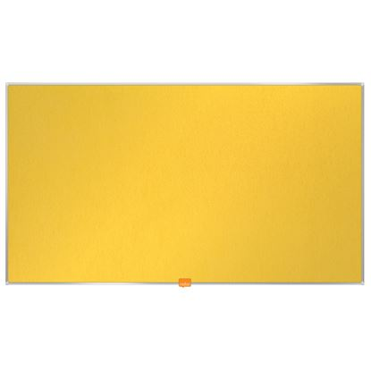 """Obrázek Nástěnka textilní Widescreen 40"""" / žlutá"""