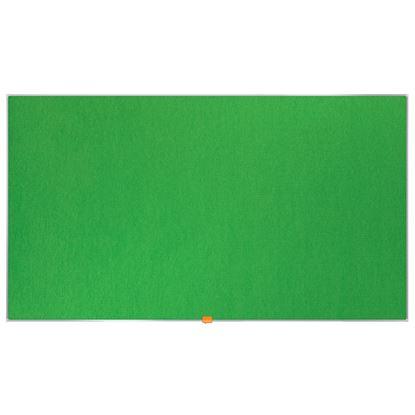"""Obrázek Nástěnka textilní Widescreen 55"""" / zelená"""