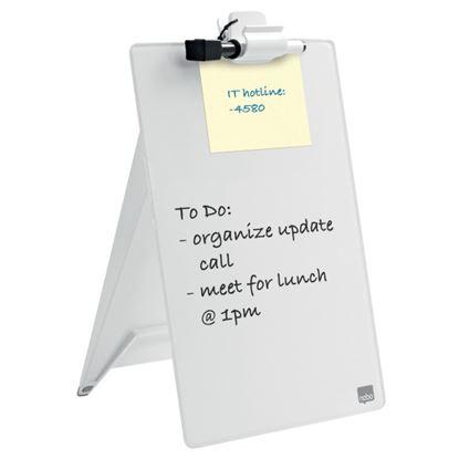 Obrázek Stolní skleněný flipchart na poznámky - 216 x 297 x 30 cm