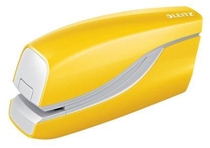 Obrázek Leitz WOW 5566 kancelářský sešívač elektrický žlutá