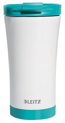 Obrázek Termohrnek Wow -  tyrkysová/ 380 ml