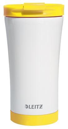 Obrázek Termohrnek Wow - žlutá / 380 ml
