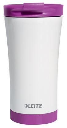 Obrázek Termohrnek Wow -  fialová/ 380 ml