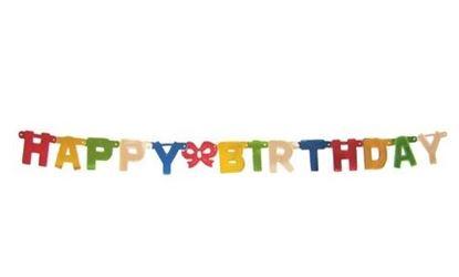 Obrázek Girlanda Happy Birthday - 1,5 m