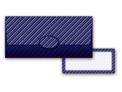 Obrázek Obálka na peníze pro pány / modrá