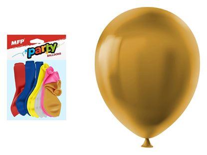 Obrázek MFP nafukovací balonky vel. M 12ks metal