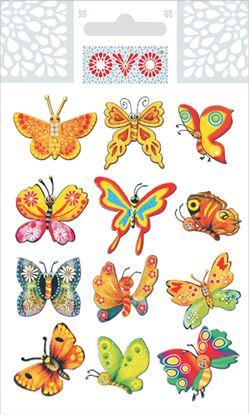 Obrázek OVO obtisky - motýlci/glitr