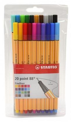 Obrázek Liner STABILO point 88 - sada 20 ks