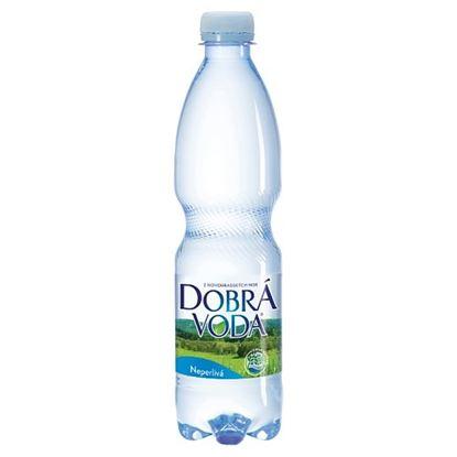Obrázek Dobrá voda minerální voda bez příchutě neperlivá 0,5 l