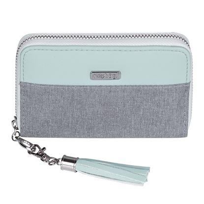 Obrázek Peněženka dámská - Grey mentol / malá