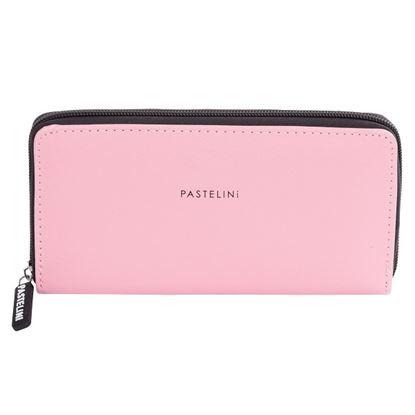 Obrázek Peněženka dámská - PASTELINI / růžová / velká
