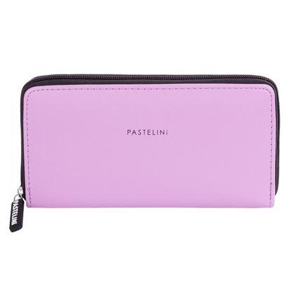 Obrázek Karton P+P PASTELINI 8-259 peněženka dámská velká fialová