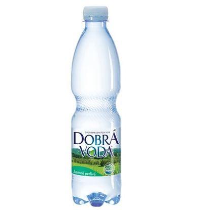 Obrázek Dobrá voda minerální voda bez příchutě jemně perlivá 0,5 l