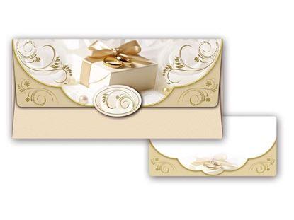 Obrázek Obálka na peníze svatební
