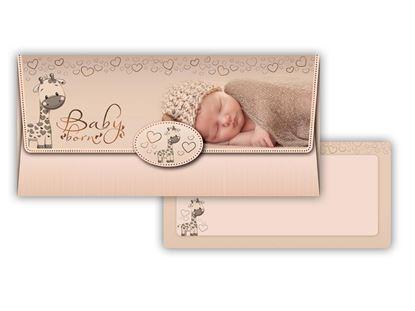 Obrázek Obálka na peníze narození dítěte