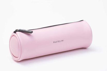 Obrázek Pouzdro na tužky PASTELINI / růžová / kulaté