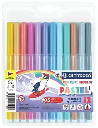 Obrázek Popisovače 7550 Centropen PASTEL - sada 6 ks
