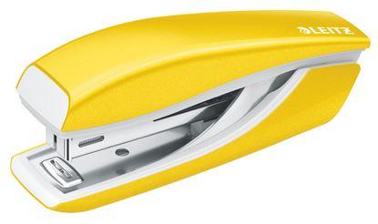 Obrázek Kancelářský sešívač mini 5528 - metalická žlutá