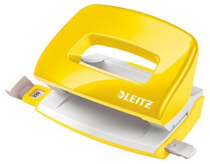 Obrázek Kancelářský děrovač 5060 mini - metalická žlutá