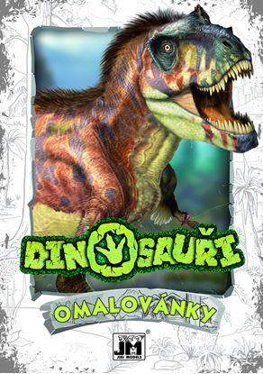 Obrázek Omalovánky A5+ - motiv Dinosauři