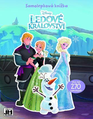 Obrázek JIRI MODELS Frozen samolepková knížka