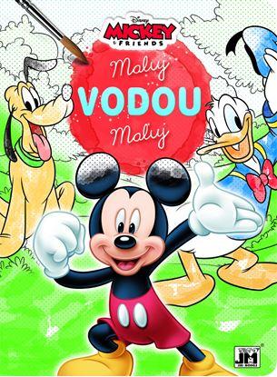 Obrázek Omalovánky Maluj vodou - motiv Mickey Mouse