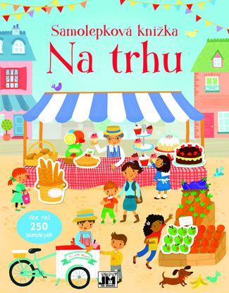 Obrázek JIRI MODELS Na trhu samolepková knížka