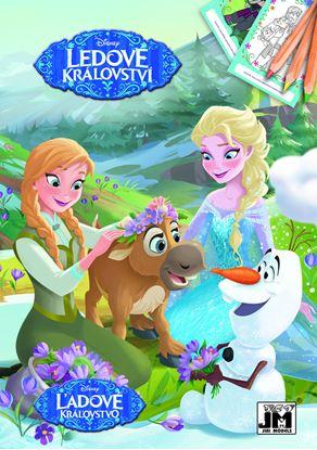 Obrázek Omalovánky A5+ - motiv Ledové království