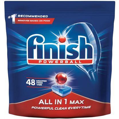 Obrázek Finish – prostředky do myčky - tablety all in 1 max / 48 ks