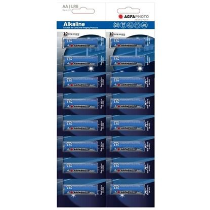Obrázek Baterie AgfaPhoto Power alkalické - baterie tužková AA / 16 ks