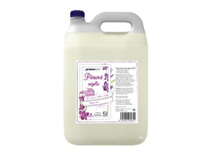 Obrázek Mýdlo pěnové PrimaSoft Orchidea - 5l / bílé