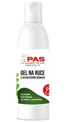 Obrázek PAS dezinfekční gel na ruce s Aloe Vera 150 ml