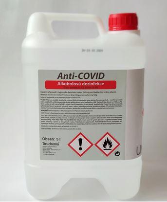 Obrázek Dezinfekce na ruce Anti-Covid - 5 l