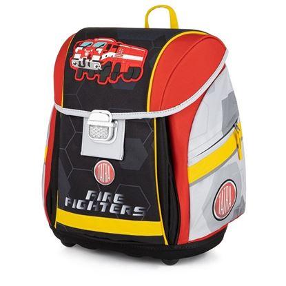 Obrázek Školní batoh PREMIUM LIGHT / Tatra - hasiči / pro děti nad 121 cm