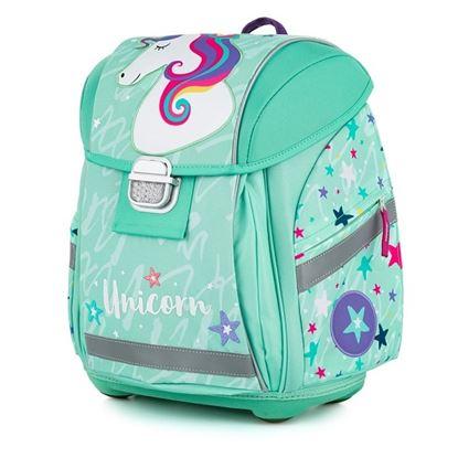 Obrázek Školní batoh PREMIUM LIGHT / Unicorn iconic / pro děti od 121 cm