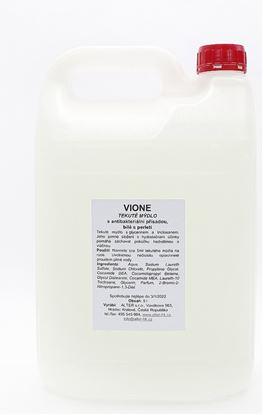 Obrázek Mýdlo tekuté antibakteriální Vione - bílé / 5l
